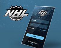 NHL Network UI consept