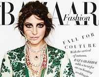 Anushka Sharma- Harper's Bazaar Bride, India - Sept '14