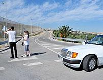 The Melilla border fence
