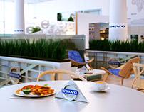 """""""Volvo"""" service centre redesign"""