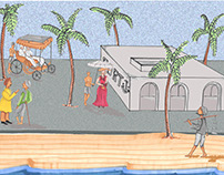 Illustration Book: What the Sea Saw