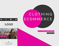 Clothing Ecommerce Sample