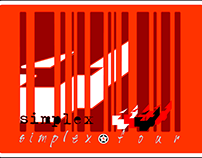 Sticker design for fictional band..