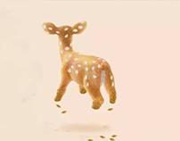 Chinese redbud deer