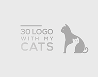 30 LOGO WITH MY CATS