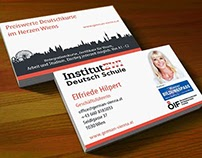 Flyer Design for Print (Front/Back) for Institut- EWI