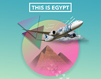 "Egypt Tourism Advertising Campaign "" Egypt Air """