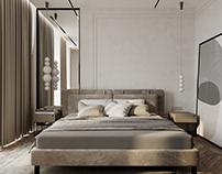 MASTER BEDROOM vizualization and design