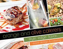 Orange and Olive Caterers - Branding