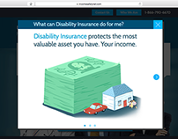 IncomeSafetyNet.com Website Design
