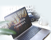 Aaron Endicott Website Re-Design