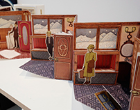 The pop-up book of Murder on the Orient Express
