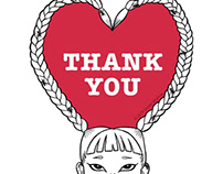 -Original goods- THANK YOU sticker