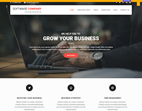Software Company WordPress Themes