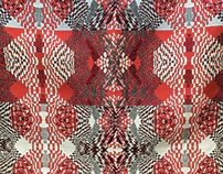 Jacquard Cloth Geometric