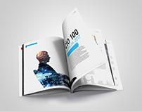 CIO TOP100 - layout design