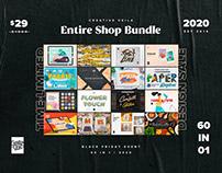 Black Friday Entire Shop Bundle 2020