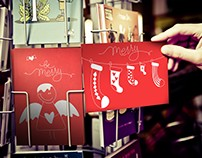 Christmas postcards by Deshko Veronika