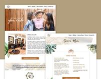 Midtown Curls Hair Salon Website Design