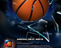 Basketball Toss Up - Shoot 3D | Sports Game Design