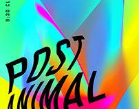 Post Animal poster