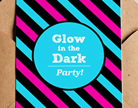 GLOW IN THE DARK PARTY.