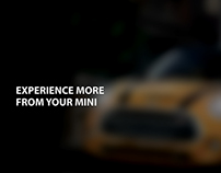 Experience more form your MINI - Campaign