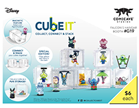 Disney Cubeits & Podz - Toy Design