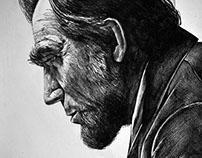 Portrait Lincoln - Daniel Day Lewis