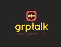 grptalk conference calling app design