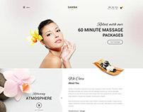 Samba Spa Joomla Salon & Beautician Center Template