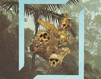 """""""Selva Tropical"""", analogue collage"""