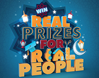 Max Real prizes for real people posters