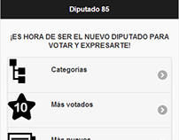 Diputado 85 - Web App