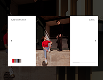 Gallery Page Transition Animation