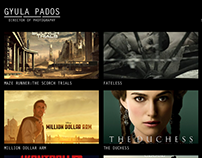 Web Design: film portfolio site