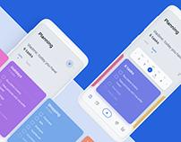 Planner UX/UI design