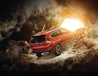Honda National Geographic dergi ilanı
