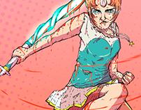 Fan Art - Pearl (Steven Universe)