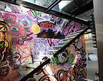 Mural para Oficinas Legaspi.