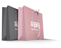 Auping Plaza paper shopping bag