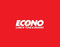 Econo Lube Logo & Webskins