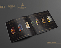 Scotch Whisky folder, brouchure, catalogue