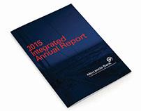Mercantile Bank Annual Report concept