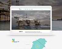 North Oil Website Design