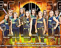 Eclipse Softball Team Banners