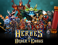 Heroes of Order and Chaos - Game Artwork