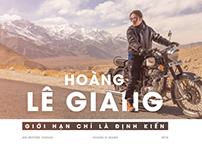 Emagazine: Hoàng Lê Giang - Giới hạn chỉ là định kiến
