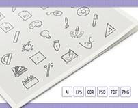 50 Designer Business Icon Set