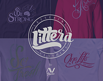Clothing and Lettering